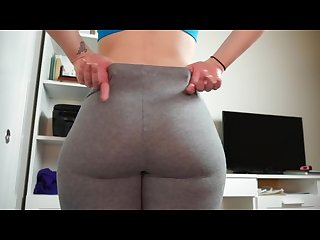 Ashley alban Quickie Leggings Joi 60fps