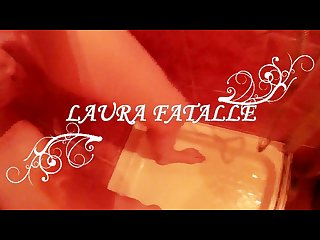 She gives you golden shower and she loves it Laura fatalle
