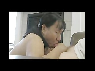 Asian blows her husband
