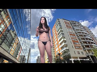 Giantess world domination