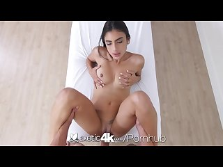 Exotic4k - Latin Michelle Martinez gets her dripping wet pussy fucked