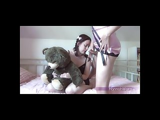 Shy teen lover for a hungry tgirl