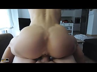 Lucky guy is fucked by athletic Fitness ass petite model full Hd