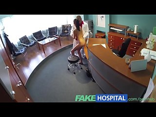 Fakehospital cock hungry patient wastes no time continuing with her check