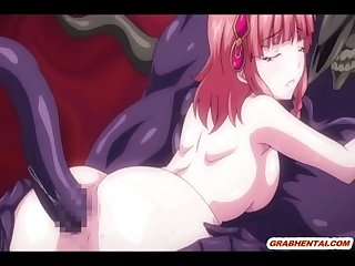 Japanese anime coeds tentacles sex and cummed allbody