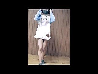 Panama C C slender amateur teen strip dance