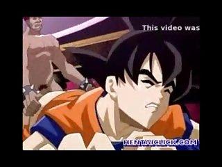 Goku follado por mercenario