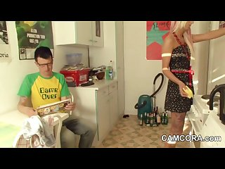 German step dad fucks young step daughter