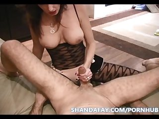 Pegged in stockings canada s kinkiest milf shanda fay
