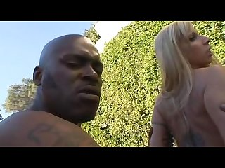 Lex steeles huge cock makes morgan ray moan in the open air