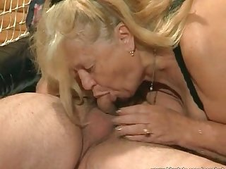 Chubby blonde whore fucked hard
