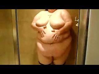 Ssbbw bikini strip