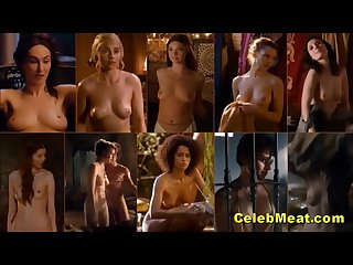 Looped celebrity tits bouncing compilation