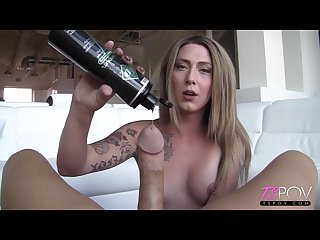Athena addams southern hottie athena addams enjoys getting the cum out