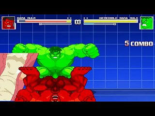 Red hulk vs bara hulk bara battle