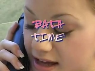 Bath time with step dad