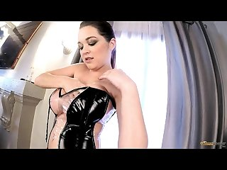 Video of tessa fowler as a busty dominatrix big tits and big boobs at bo