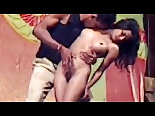 Indian stage actress nude dance in public with hot action