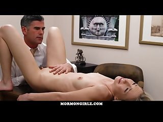 Mormongirlz naughty girlfriend fucked by older stranger