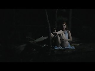 Fucking a dildo outdoors at night better porn freckledred Manyvids com