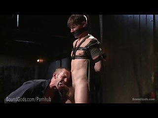 Helplessly bound and dominated