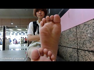 Japanese awesome soles in taipei nanako 168cm 24 5cm 22yo