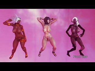 3d futa dance oblivion step