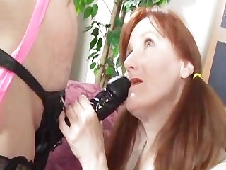 8 lesbian grannies and the big black dildo 1 scene 4