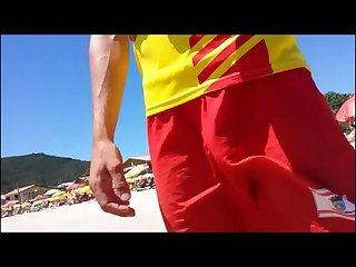 Hung lifeguard big bulge