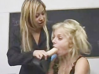 College girl gets strapon anal punished by twistedworlds