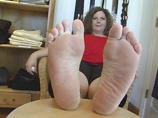 Bbw fat feet