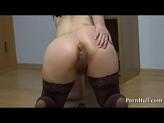 Huge dildo in the ass natasha