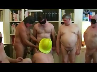 Chubby old daddy orgy