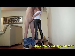 10 asian hooker fucks the brains out of your balls