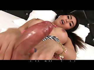 Ladyboy gor bitchin ass fingering