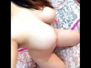 Chinese girl cam show masturbation