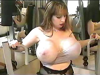Boob flex workout