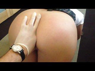 Schoolgirl anal fuck