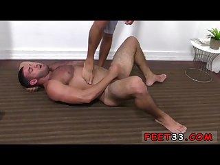 Gay hairy leg sex johnny hazzard stomps Ricky larkin