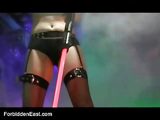 Uncensored japanese erotic fetish sex les rave 2 pt 1