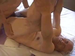 Japanese grandpa fuck