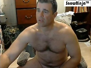 Straight married kinky daddy webcam cum