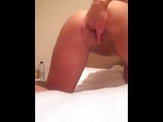 Teen fingers pussy has a Shaking orgasm 2 2