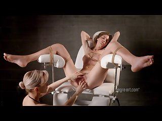 Charlotta submissive bondage massage