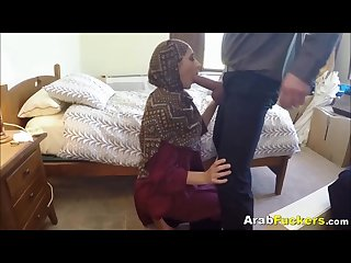 A few dollars gets an arab to take cock