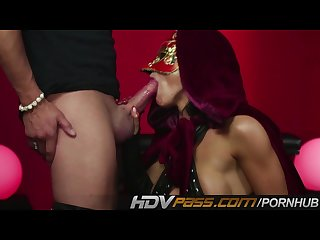 Hdvpass romi rain is the queen of kink
