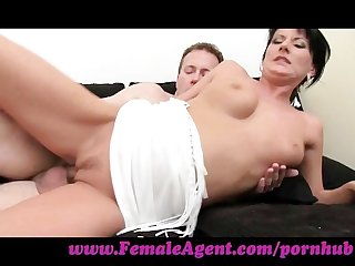 Femaleagent spectacular cock control from stud