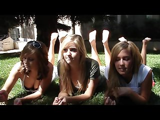 Meghan mariska and nikkies college feet