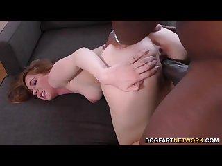 Pepper Hart Fucks Mandongo\'s Black Cock