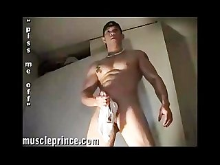 Asian muscle prince j o muscle flex cum